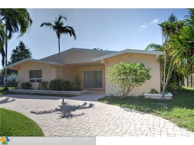 Fort Lauderdale Single Family Home For Sale: 2217 NE 28th Ave
