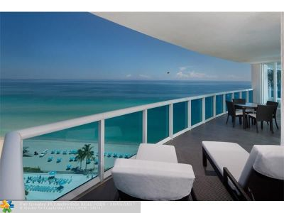 Hollywood Condo/Townhouse For Sale: 2711 S Ocean Dr #1502