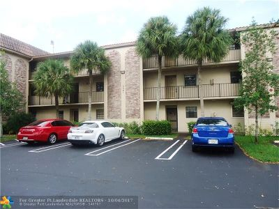 Coral Springs Condo/Townhouse For Sale: 3361 NW 85th Ave #207