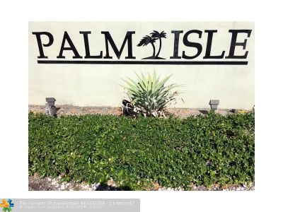 Wilton Manors Condo/Townhouse For Sale: 811 W Oakland Park Blvd #F-12