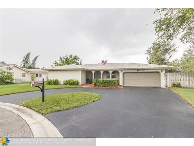 Coral Springs Single Family Home Backup Contract-Call LA: 11080 NW 44th St
