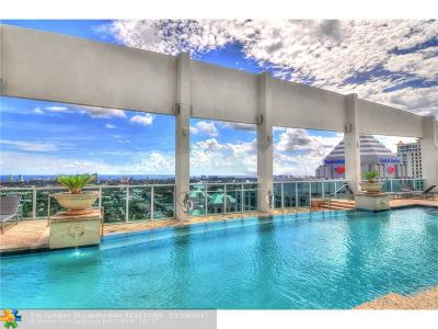 Fort Lauderdale Condo/Townhouse For Sale: 350 SE 2nd St #860