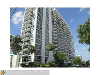 Broward County Condo/Townhouse For Sale: 531 N Ocean Blvd #905