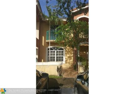Miami Gardens Condo/Townhouse For Sale: 7005 NW 173rd Dr #1702