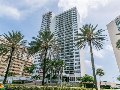Hallandale Condo/Townhouse For Sale: 3140 S Ocean Dr #2006
