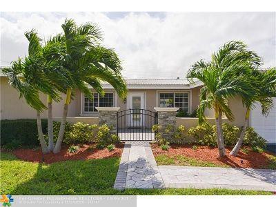 Fort Lauderdale Single Family Home For Sale: 2060 NE 60th St