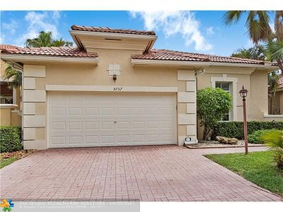 Coral Springs Single Family Home Backup Contract-Call LA: 5757 NW 122nd Ter