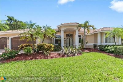 Coral Springs Single Family Home For Sale: 11900 NW 11th Ct