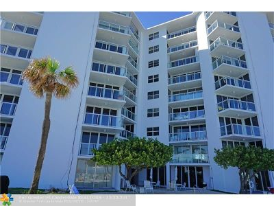 Hillsboro Beach Condo/Townhouse For Sale: 1057 Hillsboro Mile #723