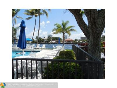 Fort Lauderdale Condo/Townhouse For Sale: 6287 Bay Club Dr #1