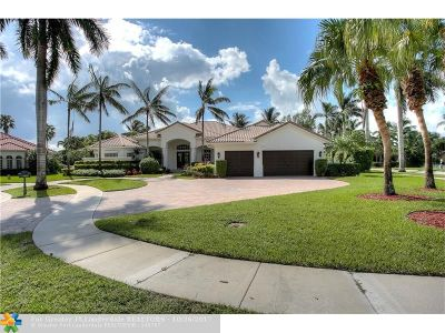 Plantation Single Family Home For Sale: 10808 Golden Eagle Ct