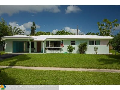 Fort Lauderdale Single Family Home For Sale: 1421 NE 60th St