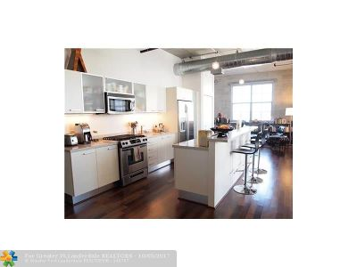 Fort Lauderdale Condo/Townhouse For Sale: 411 N W 1st Ave #402