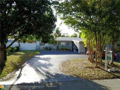 Fort Lauderdale Single Family Home Backup Contract-Call LA: 4761 NE 19th Ave