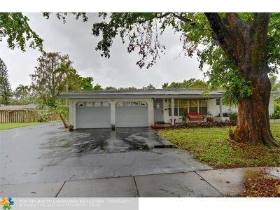 Plantation Single Family Home For Sale: 322 SW 60th Avenue