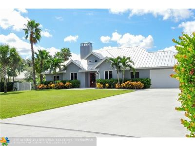 Parkland Single Family Home For Sale: 6741 NW 66th Way