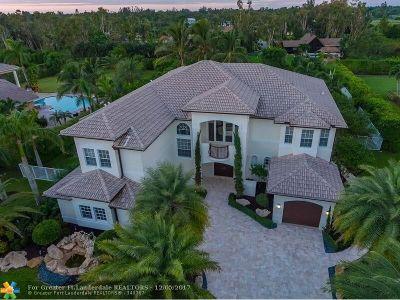 Davie Single Family Home For Sale: 10741 Pine Lodge Trl