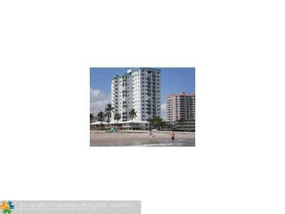 Lauderdale By The Sea Condo/Townhouse For Sale: 1500 S Ocean Blvd #207