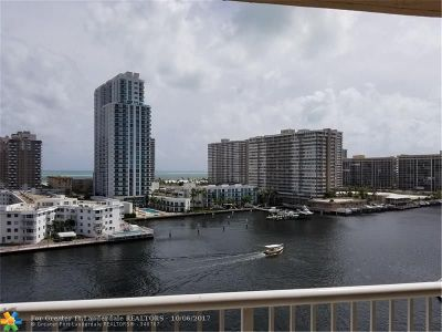 Hallandale Condo/Townhouse For Sale: 121 Golden Isles Dr #903