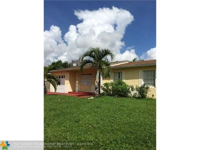 North Lauderdale Single Family Home Backup Contract-Call LA: 320 SW 78th Street
