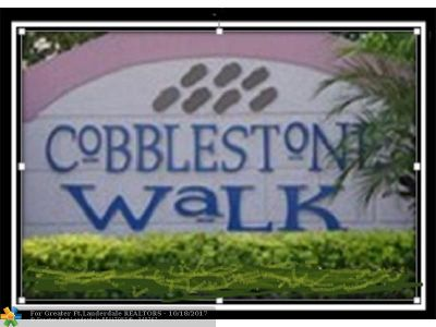 Coral Springs FL Rental For Rent: $2,100