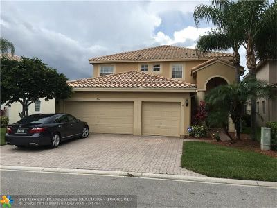 Coral Springs Single Family Home For Sale: 5354 NW 121st Ave