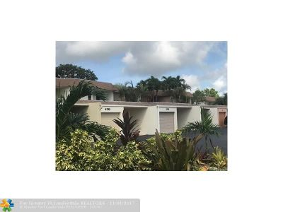 Deerfield Beach Condo/Townhouse For Sale: 4763 NW 9th Ave #4763