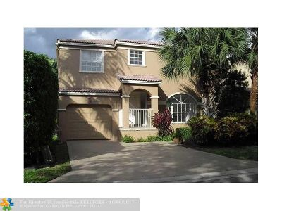 Coral Springs Single Family Home For Sale: 8785 NW 6th St