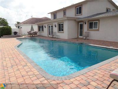 Pompano Beach Single Family Home For Sale: 1660 NE 25th Ave