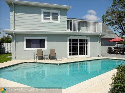 Pompano Beach Single Family Home For Sale: 1690 NE 25th Ave