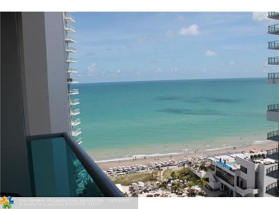 Hollywood Condo/Townhouse For Sale: 4001 S Ocean Dr #16J