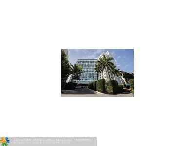 Miami Condo/Townhouse For Sale: 1100 West Av #523