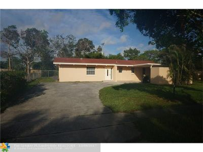 West Palm Beach Single Family Home For Sale: 1462 9th St
