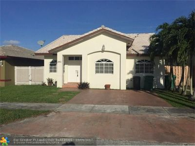 Miami Single Family Home For Sale: 2971 SW 136th Ct