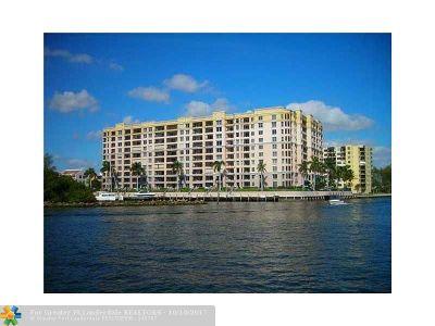 Pompano Beach Condo/Townhouse For Sale: 2880 NE 14th Street Cswy #412