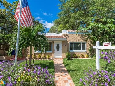 Fort Lauderdale Single Family Home For Sale: 211 NE 16th Ave
