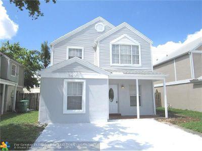 Miramar Single Family Home Backup Contract-Call LA: 3410 Kapot Ter