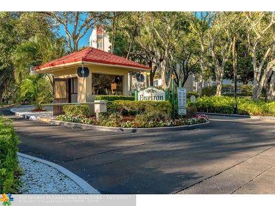 Lauderhill Condo/Townhouse For Sale: 6911 Environ Blvd #1M