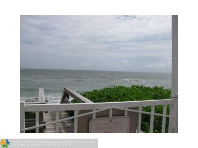 Hillsboro Beach Condo/Townhouse For Sale