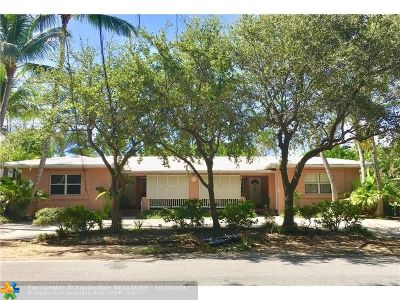 Pompano Beach Multi Family Home For Sale: 3410 Spring St