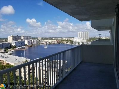 Hallandale Condo/Townhouse For Sale: 137 Golden Isles Dr #1412