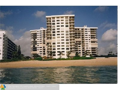 Lauderdale By The Sea Condo/Townhouse For Sale: 1800 S Ocean Blvd #1204