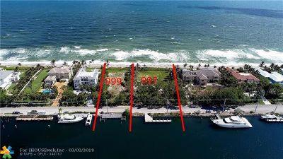 Hillsboro Beach Residential Lots & Land For Sale: 997 Hillsboro Mile