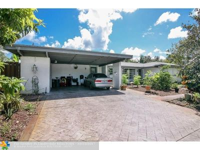 Plantation Single Family Home For Sale: 242 SW 58th Ave