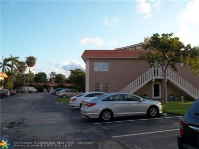 Wilton Manors Condo/Townhouse For Sale: 124 NE 19th Ct #104B
