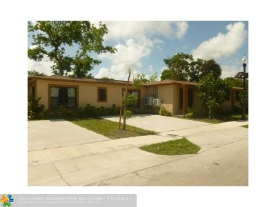 Fort Lauderdale Multi Family Home For Sale: 844 NW 3rd Ave