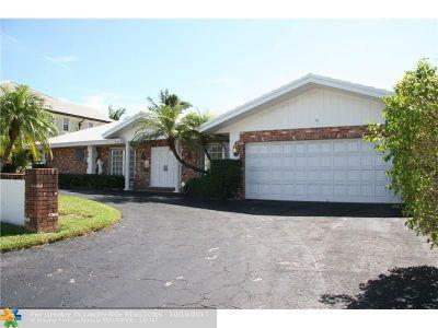 Coral Ridge, Coral Ridge 21-50 B, Coral Ridge Add, Coral Ridge Country Club Single Family Home Backup Contract-Call LA: 2800 NE 37th St