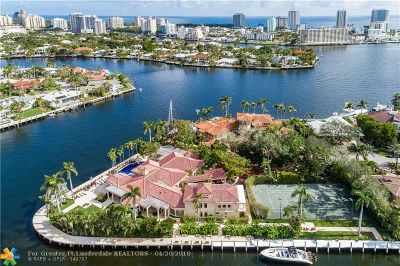 Broward County Single Family Home For Sale: 2300 Aqua Vista Blvd
