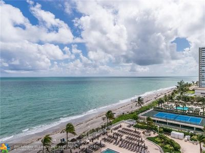 Hallandale Condo/Townhouse For Sale: 1890 S Ocean Dr #1005