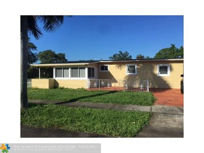 Fort Lauderdale Single Family Home For Sale: 2801 NW 7th Ct